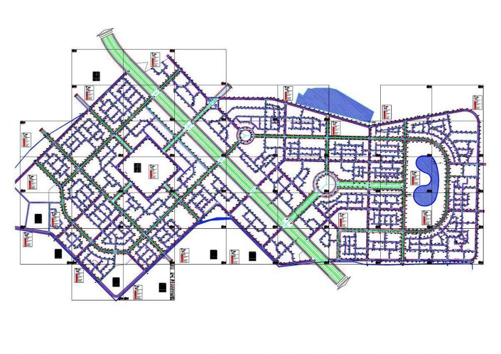 Lập dự án đầu tư xây dựng hạ tầng kỹ thuật khu đô thị Chương Mỹ –Hà Tây.