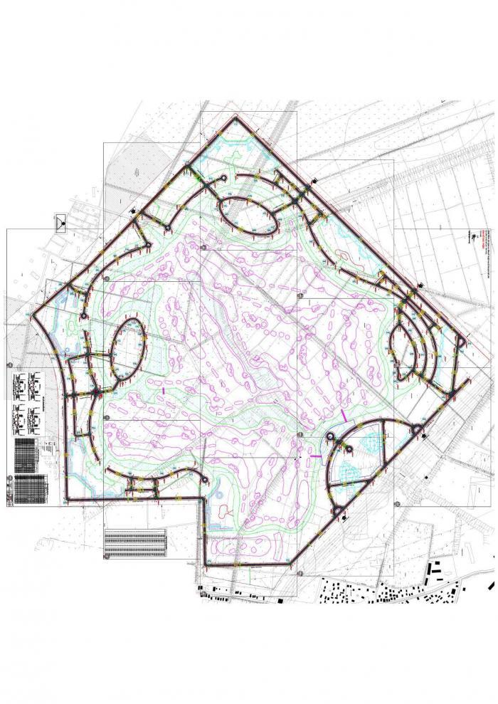 Dự án xây dựng hạ tầng kỹ thuật khu đô thụ golf Mê Linh