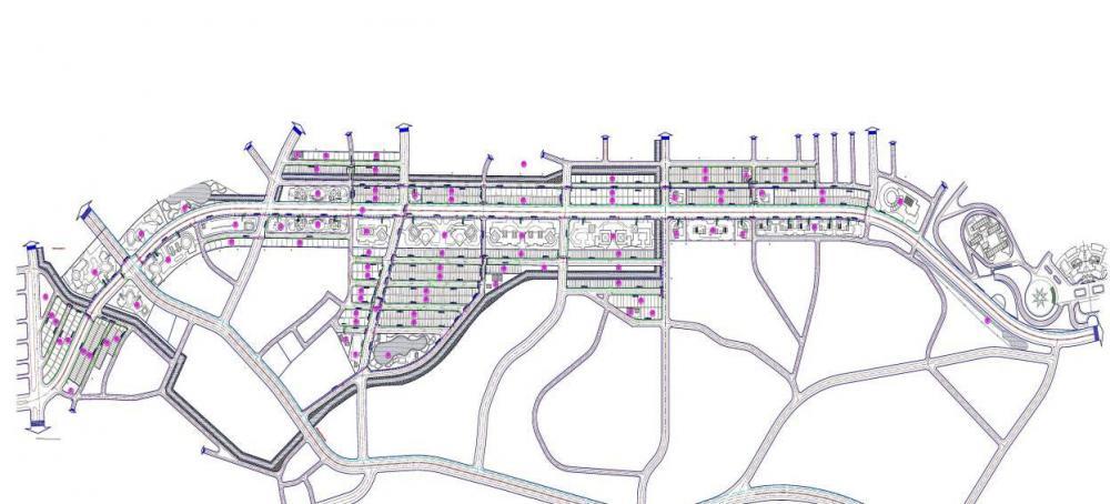 Lập dự án; thiết kế BVTC dự án xây dựng HTKT khu đô thị hai bên đường nguyễn tất thành – TP Việt trì - Phú thọ