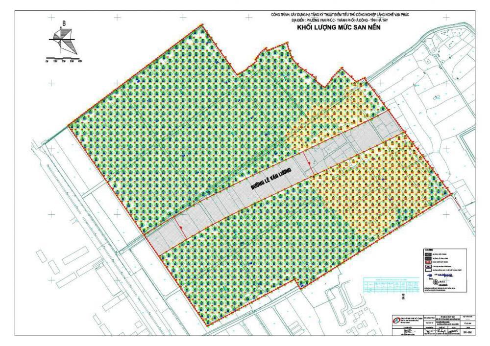Lập dự án; thiết kế BVTC dự án xây dựng HTKT điểm công nghiệp dịch vụ  làng nghề vạn phúc – hà đông