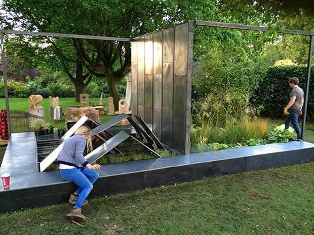 Vườn thông minh có thể tự biến đổi phù hợp với tâm trạng con người