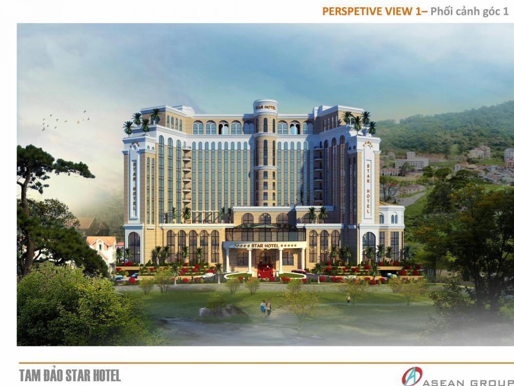 Thiết kế khách sạn Tam Dao Star Hotel
